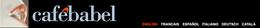 Logo 'Café Babel'