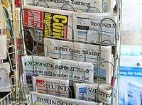 Newspapaer stand (photo: AP)