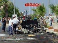 After the terrorist bombing is Kusadasi, Turkey, July (photo: AP)