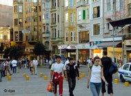 Istiklal Street in Istanbul (photo: dpa)