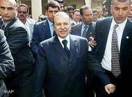 Algerian President Bouteflika (photo: AP)