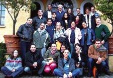 The Triangle crew at the first meeting in Italy (photo: Triangle,org.il)