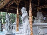Hindu temple on Bali, Indonesia (photo: Melinda Klayman)