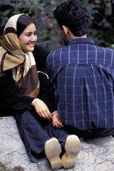 Young couple in Iran, photo: Markus Kirchgessner