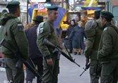 Israeli border police officers in Jerusalem (photo: AP)