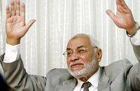 Mohammad Mehdi Akef (photo: AP)