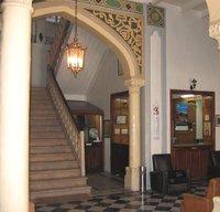 Lobby Hotel Baron (photo: Kristin Helberg)