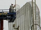A border fence in Melilla (photo: AP)