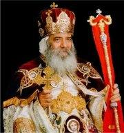 Coptic pope Shenouda III. (photo: www.coptic-churches.ch)