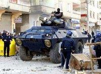 Turkish special forces in Diyarbakir, southeastern Turkey (photo: AP)