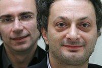 Dimitré Dinev, left, and Feridun Zaimoglu (photo: Robert Bosch Foundation)