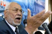 Mohammed Mehdi Akef of Egypt's Muslim Brotherhood (photo: AP)