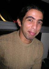 Amr Gharbeia, Egyptian blogger (photo: Mona Naggar)