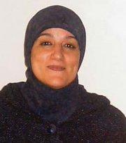 Nadia Yassine (photo: Alfred Hackensberger)