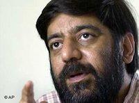 Indian documentary filmmaker Rakesh Sharma (photo: AP)