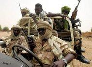 Janjaweed militia in western Sudan (photo: dpa)