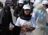 Kuwaiti women at election´s day, photo AP