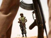 Soldier of the African Union in Darfur (photo: AP)