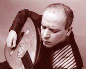 The Palestinian oud virtuoso Adel Salameh (photo: www.adaelsalameh.com)