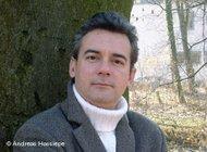 Ilija Trojanow (photo: &copy Andreas Hassiepe/DW-World.de)