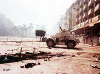 Beirut during the civil war (photo: ap)