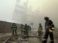 Firefighters on Ground Zero on 9/11 (photo: AP)