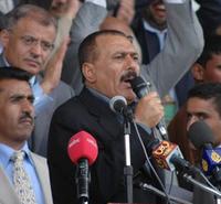 President Ali Abdullah Saleh (photo: Mohammed al-Qadhi/IRIN)