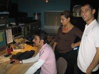 Düzgün TV's editorial staff (photo: Petra Tabeling)
