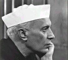 The first prime minister of India, Jawaharlal Nehru (photo: www.tamiloviam.com)