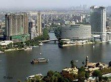 View over Cairo and the Nile (photo: dpa)