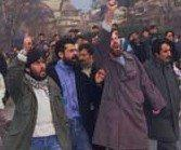 Kurdish supporters of Hezbollah (photo: Hürriyet)