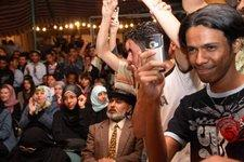 The audience during Yemen's first public hip-hop event (photo: Klaus Heymach)