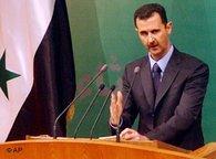 Bashar Assad (photo: AP)