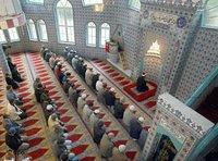 Fatih Mosque in Essen, Germany, the largest in the state of North Rhine-Westphalia (photo: dpa)