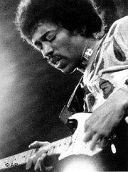 Jimi Hendrix (photo: AP)