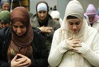 Two Muslim women in Germany (photo: dpa)