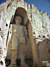 Bamiyan statue, Afghanistan (photo: AP)