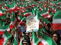 Rally in Iran (photo: AP)