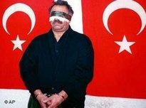 Jailed Kurdish leader Abdullah Öcalan
