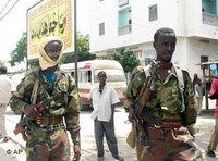 Islamist militiamen in Mogadishu (photo: AP)