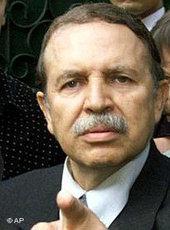 Algerias president Abdelaziz Bouteflika (photo: AP)
