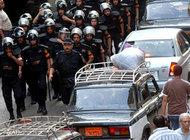 Police forces in Cairo, Egypt (photo: AP)