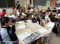 Islam lesson in a primary school (photo: dpa)