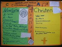 Poster made by pupils at the Brucker Lache primary school in Erlangen (photo: Christiane Hawranek)