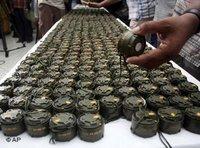 Anti-person mines (photo: AP)