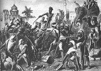 Historic artwork of the Sepoy Rebellion (photo: Wikipedia.org)