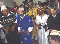 Gnawa dance ritual (photo: Andreas Kirchgäßner)