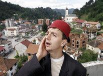 Bosnian Muslim imam in Srebrenica (photo: AP)