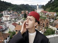 Bosnian Muslim imam in Srebrenica (photo: AP)