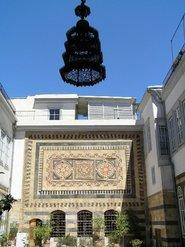 A 15th century </i>iwan </i>in Damascus (photo: Mona Sarkis)